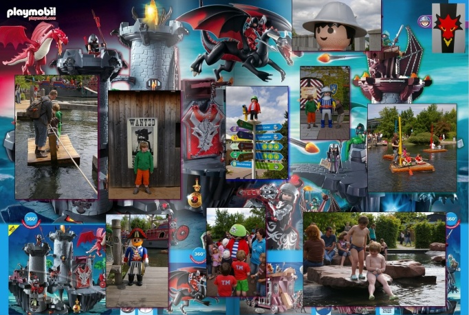 Playmobil Land - Collage