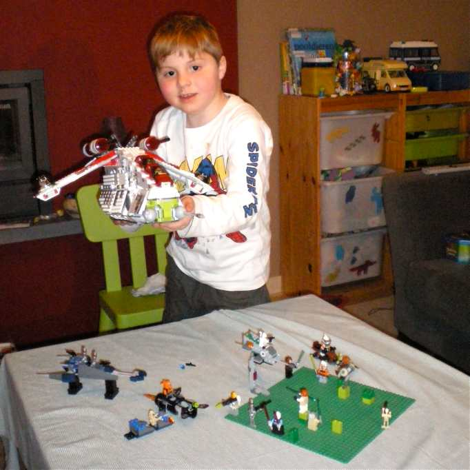 Lego Clone Wars - Republic Attack Gunship