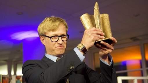 Peter Terrin wint de Ako Literatuurprijs 2012