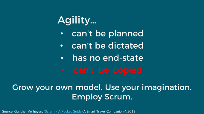 Agility (inconvenient truths)