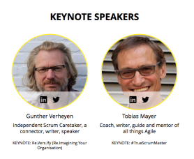 Soulmates and keynote speakers Scrum Days Poland 2017