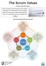 The Scrum Values (International Poster)